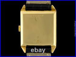 1926 IWC Vintage Mens Art Deco Breguet Numeral Watch 14K Gold