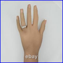 1930's Antique Art Deco 18k White Gold 0.41ctw Diamond Ring