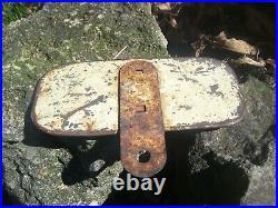 1930s Antique Automobile License Plate Topper Road Hog Vintage Chevy Trog Jalopy