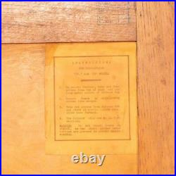 ANTIQUE 20thC ENGLISH ART DECO COMPACTOM WARDROBE c. 1930
