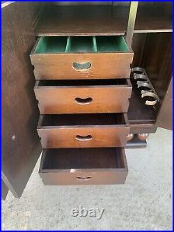 Antique Art Deco Sideboard Buffet 1920's 1930's Oak