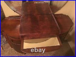Art Deco Vintage Dressing Table or Vanity & Mirror