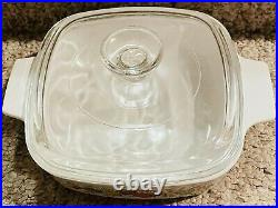 Authentic Vintage Corning Ware A-1-b Lechalote Spice Of Life Pryex Dish