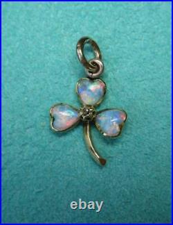 Diamond Hand Pendant Necklace 14K Gold Art Deco c1920 Antique Victorian