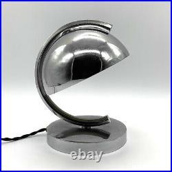 Lampe Moderniste Métal Vintage Modernist Table Lamp Design Art Deco Années 20