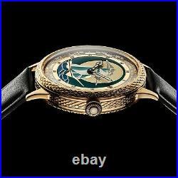 Men's Design Wrist Watch Vintage Mechanical 17J Restored Swiss Zenith Movement