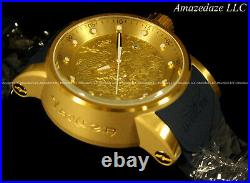 NEW Invicta Men S1 Yakuza Dragon NH35A Auto 18K Gold Plated Stainless Stee Watch