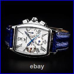 Poljot Chronograph 31677 MAKTIME Wochentagkalender russische mechanische Uhr