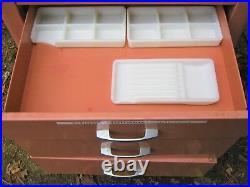 Retro USA Art Deco MID Century Medical Dental Cabinet Table Draw Stand Shelf Gay