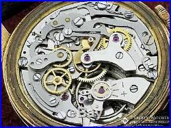 Serviced Vintage Cronographe Suisse Chronograph 18K Gold Landeron 248 Watch