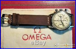 Serviced Vintage Omega SeaMaster Chronograph Cal 321 Watch CK 2947 Box & Papers