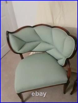 Set Of 2 Stylish French Art Deco Chairs