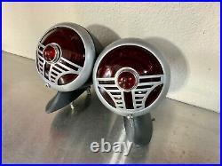 Vintage 1937 Desoto Art Deco Hot Rod Tail Lights Rat Rod SCTA TROG Flathead