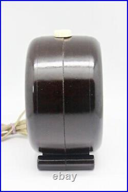 Vintage Art Deco BAKELITE Radio Speaker'54 Phillips Portable Extension Philtone
