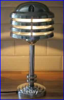 Vintage Art Deco Nautical Industrial Style Desk/Table Lamp