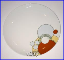 Vintage NOS Art Deco Cabaret China Dishes by Noritake in 1984 1920's design 7pc