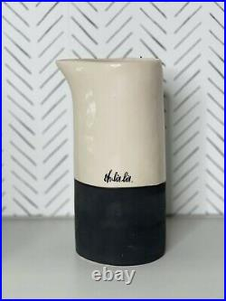 Vintage Rae Dunn By Magenta French OH LA LA Pitcher