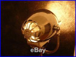 Vintage Theatre Light Antique Lamp Film Studio Art Deco Strand Tripod Patt 123