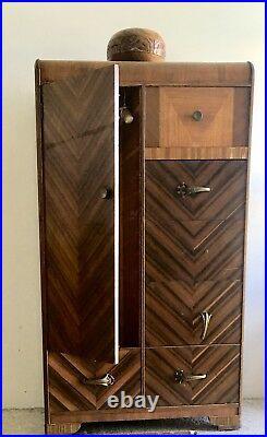 Waterfall Art Deco 6 Piece Bedroom Set